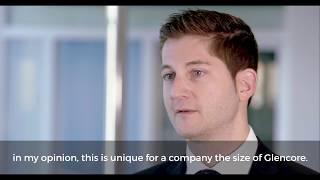 Working at Glencore - meet Gregor