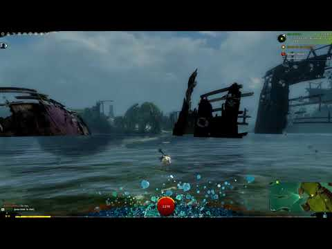 Guild wars 2 [PC] (#166) Underwater action is awesome