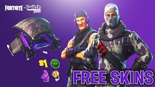 How To Get FREE SKINS in FORTNITE BATTLE ROYALE! Fortnite EXCLUSIVE FREE Twitch Prime SKINS!
