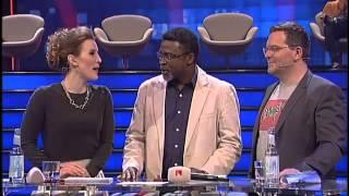 Amadou Yombo Diallo mit seinem Berufsschulprojekt live im Finale der Millionärswahl