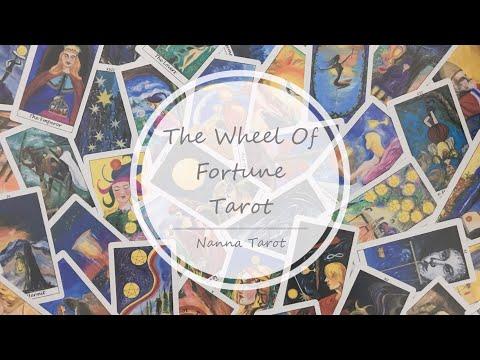 開箱  命運之輪塔羅牌 • The Wheel Of Fortune Tarot // Nanna Tarot
