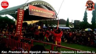 Jaranan Samboyo Putro Lagu Pamer Bojo Live Jabon Mrican Kota Kediri Jawa Timur Indonesia