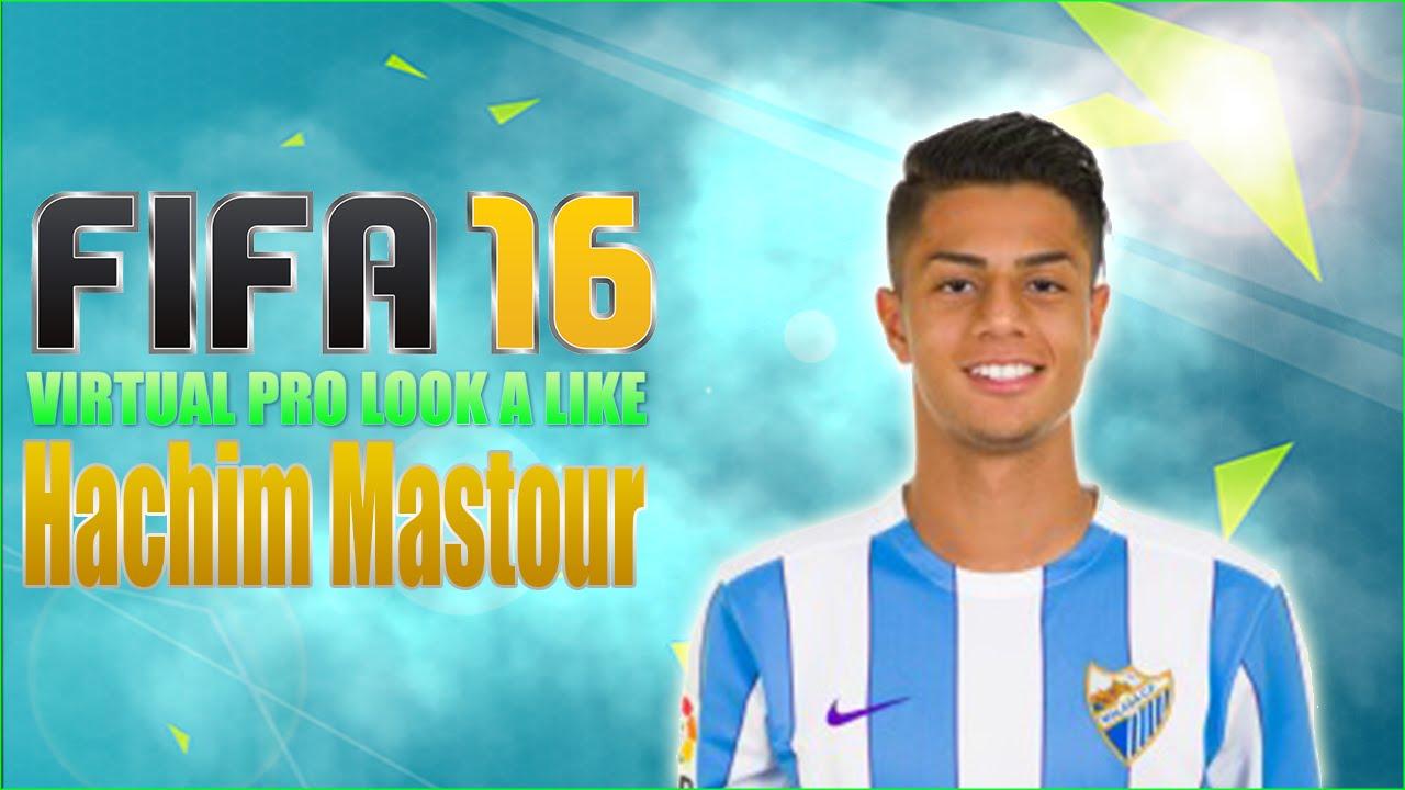 Fifa16 Virtual Pro Look A Like Hachim Mastour Youtube