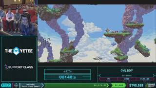 Owlboy by Zic3 in 52:55 AGDQ 2018