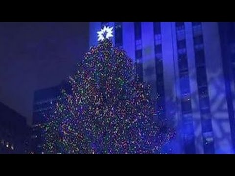 Terror scare at Rockefeller Center Christmas tree