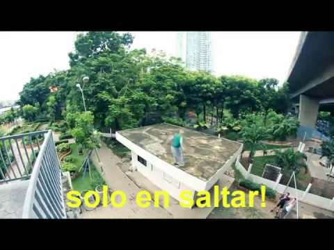 Promoción 1er Jam Internacional de parkour El Salvador 2011