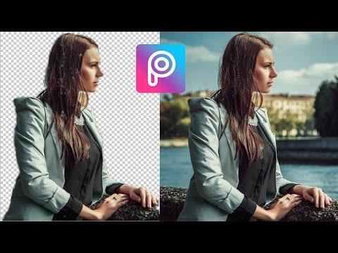 Cara Mudah Menghapus Background Foto Picsart di Android | Hanya Satu Klik