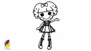 Lalaloopsy - How to draw Lalaloopsy