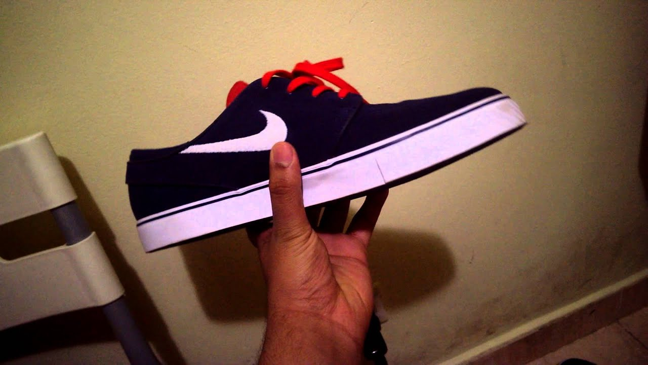 Nike Sb Janoski Shoes Thunder Blue/Cocoa