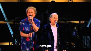 Simon & Garfunkel - Bridge Over Troubled Water (Ao Vivo HD) Legendado em PT-BR