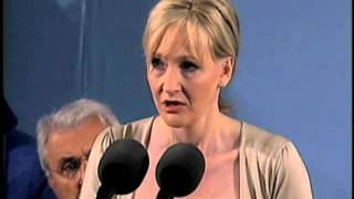 J.K. Rowling Speaks at Harvard Commencement thumbnail