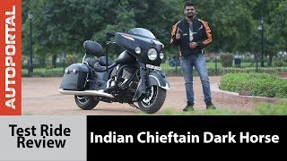 Indian Chieftain Dark Horse - Test Ride Review - Autoportal