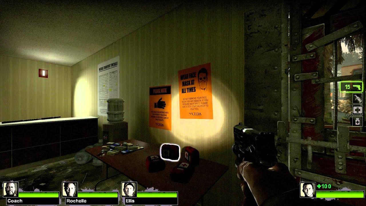 Left 4 Dead 2 (PC) Splitscreen Mod using txt file