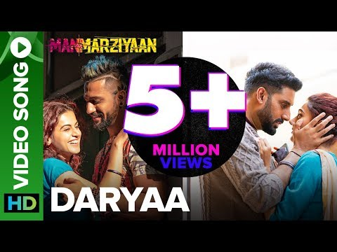 Daryaa | Video Song | Manmarziyaan | Amit Trivedi
