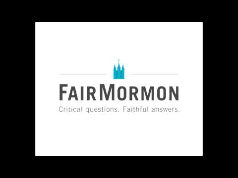 Rough Stone Rolling- Interview with Richard Bushman-- Fair Mormon Podcast part 1
