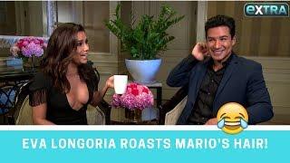 Eva Longoria's Mom Has Priceless Reaction to Mario Lopez's Hair