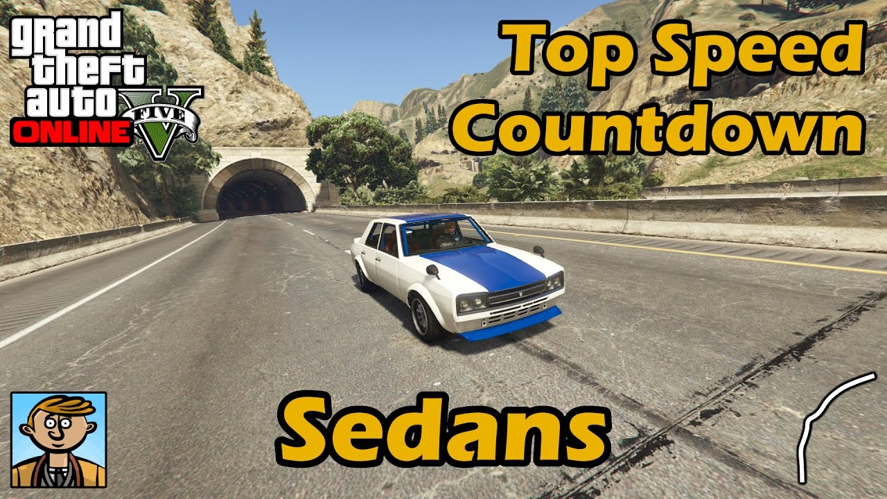 Fastest Sedans Gta Best Fully Upgraded Cars Top Speed