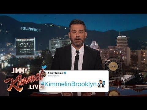 #KimmelinBrooklyn Twitter Emoji