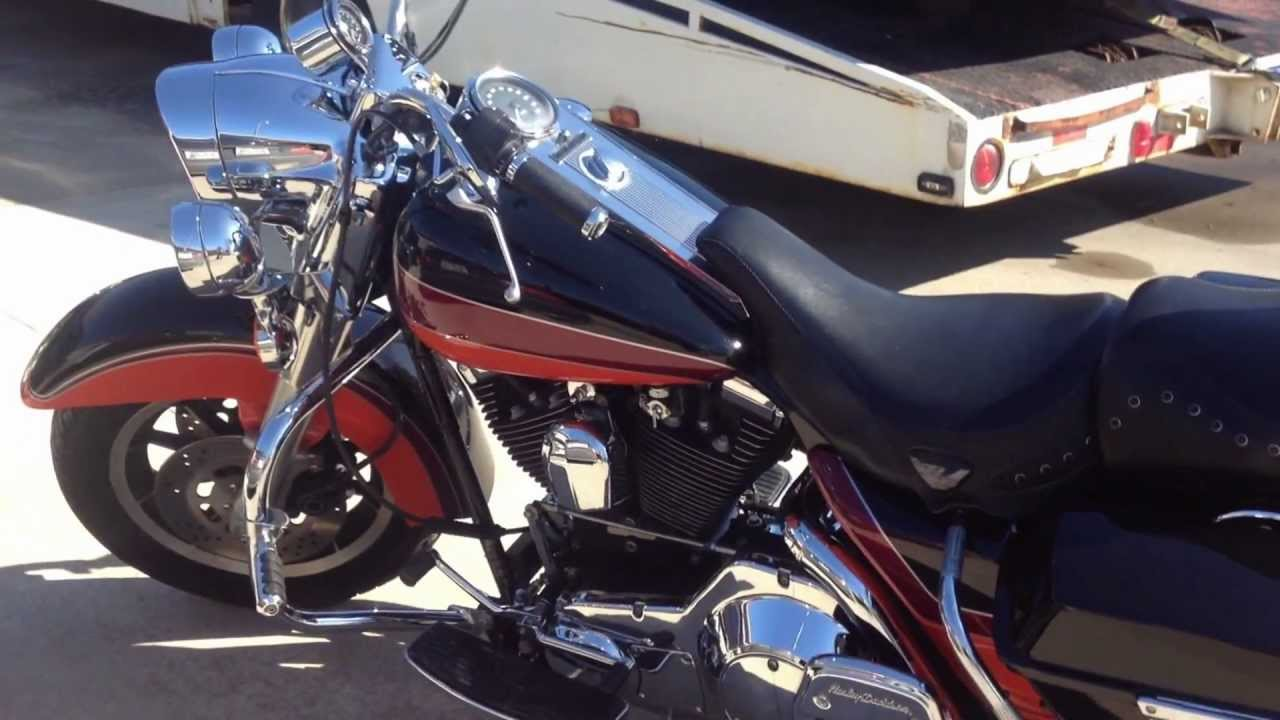 small resolution of super nice 1995 harley davidson road king flhr for sale new paint