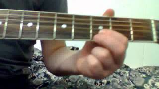 How to play perfect two by auburn on guitar