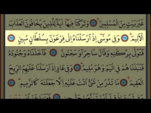 Surah Az-Zariyat(51) by Nasser Al Qatami Majestic Recitation(Zariyat)