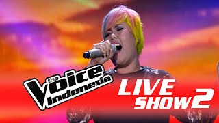 "Refita Mega ""Misteri Cinta"" | Live Show 2 | The Voice Indonesia 2016"