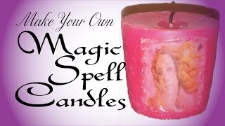 Make Your Own Magic Spell Candles