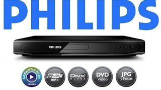 DVD Player Philips DVP2850X 78 USB Divx