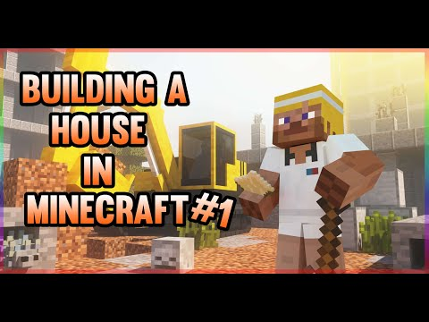 Building A house on Minecraft #1