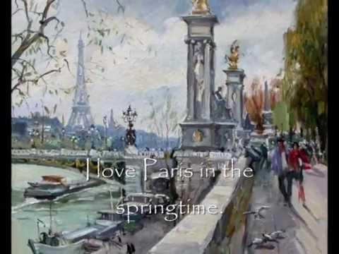 Ella Fitzgerald  I Love Paris.... (with lyrics)