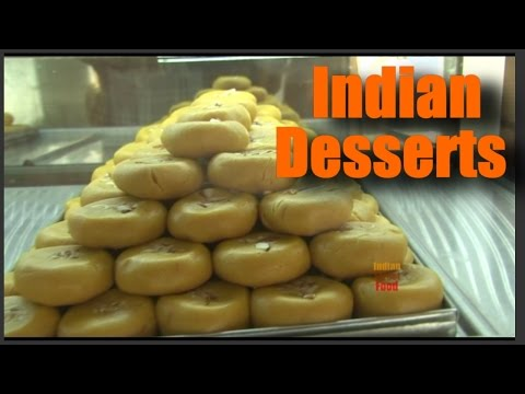 Try indian desserts  - indian street food desserts sweets - sweets mithai shop india video