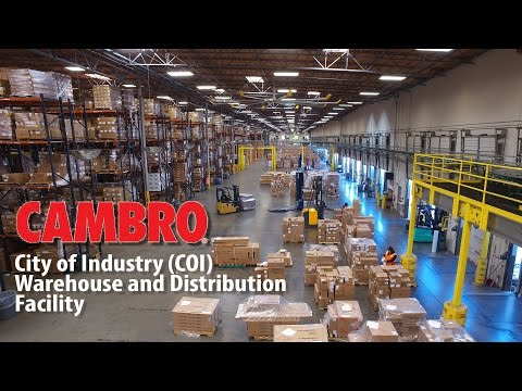 Cambro Manufacturing: City of Industry (COI) Warehouse