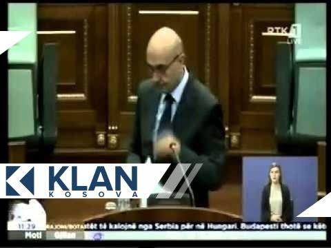 Momenti i gjuajtjes me vezë i Kryeministrit Mustafa - 22.09.2015 - Klan Kosova