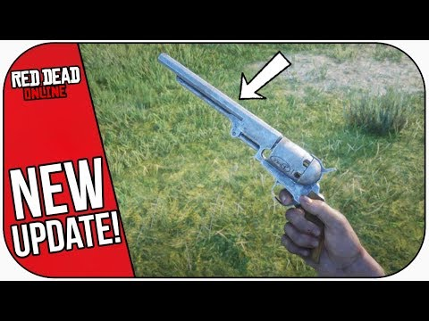 Red Dead Online: NAVY REVOLVER Weapon Review!