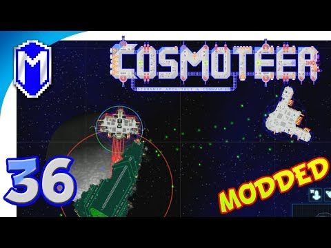 Cosmoteer - Taking On Vanguard Ships - Let's Play Cosmoteer Star Wars Gameplay Ep 36
