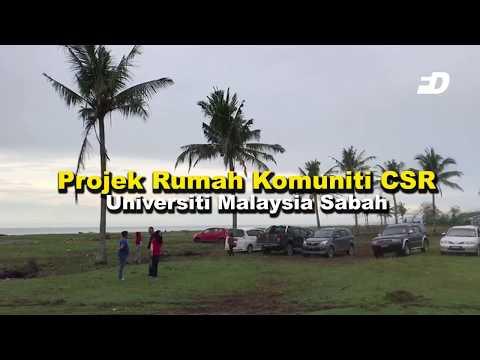 Projek rumah komuniti CSR Universiti Malaysia Sabah