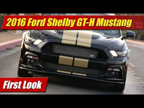 2016 Ford Shelby GT-H Mustang: First Look