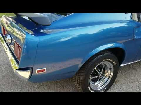 1969 Ford R code Mustang Mach One Cobra Jet for sale Michigan auto appraisal $57,500