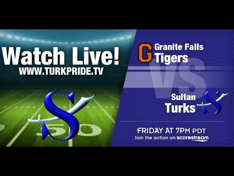 17-18 Turk Football - Sultan vs Granite Falls