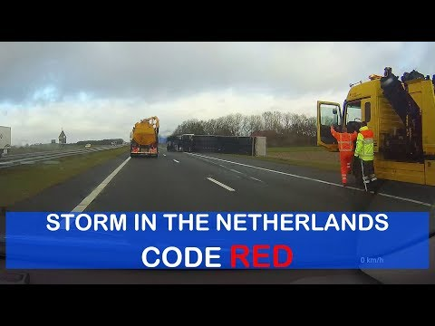 Storm in the Netherlands January 18th 2018