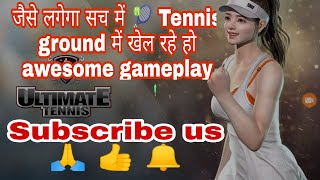 🔥Ultimate Tennis🎾 superb android game feels like real game || by author of gamers