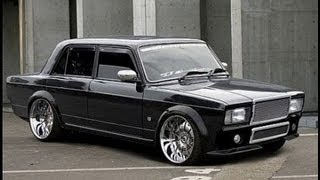 ВАЗ 2107 - Тюнинг КЛАССИКИ LADA 2107 - TUNING RETRO CAR THE BEST