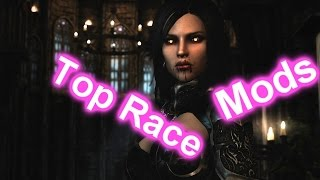 (PS4)Top Race  Mods For Skyrim Special Edition