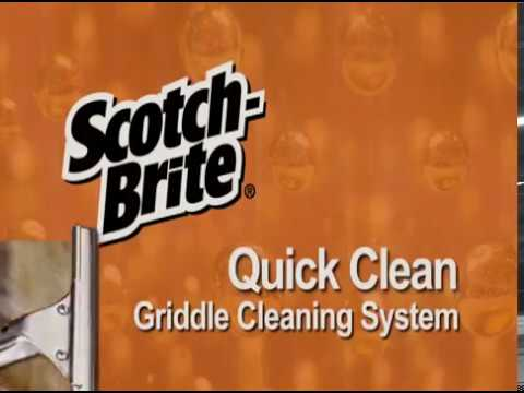 Scotch Brite Quick Clean Griddle Cleaning System