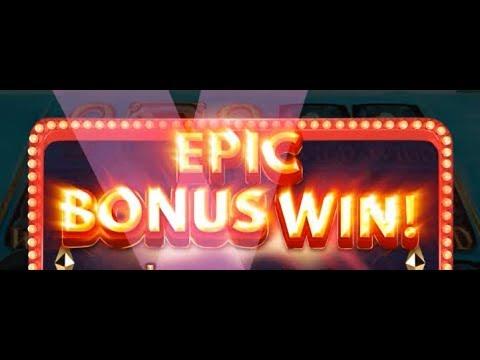 ★ MEGA BIG WIN ★Epic Win Free Spins Vegas Casino Super Big Vin Slot Machine William Hill