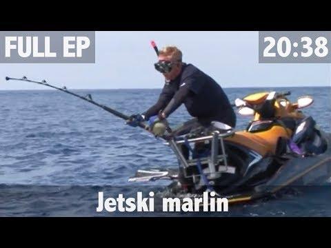 Marlin fishing from a Jetski - ULTIMATE FISHING TV