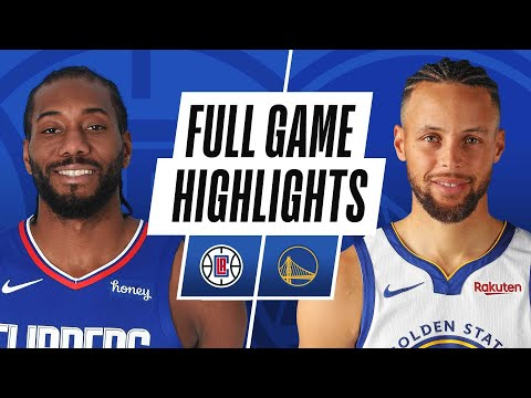 CLIPPERS at WARRIORS | FULL GAME HIGHLIGHTS | January 8, 2021