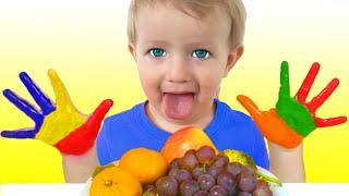 Lagu Makan Siang | Lunch Song | Lagu Anak-anak dari Katya dan Dima