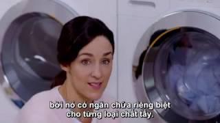 RitaVõ Pro. Chế Độ Pha Nước Giặt Tự Động Của Máy Giặt Miele