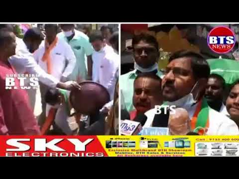 SWACH BHARAT PROGRAMME ORGANISED BY KARIMNAGAR BJP PARTY PRESIDENT KOTHA SRINIVAS& ALL PARTY MEMBERS